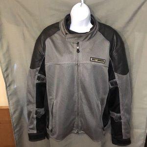 Harley-Davidson Mesh Touring Leather Jacket, sz XL
